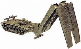 Herpa US/NATO M48 Armored Bridge-Laying Tank HO Scale Model Railroad Vehicle #741309