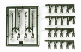 Herpa Load Restraints for Trucks, Trailers - Chains & Chocks HO Scale Model Railroad Vehicle #742283