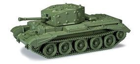 Herpa Cromwell IV Type Mk VIII Battle Tank HO Scale Model Railroad Vehicle #744447