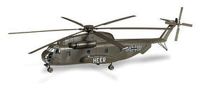 Herpa Sikorsky CH53 Sea Stallion Helicopter HO Scale Model Railroad Vehicle #745178