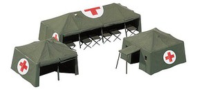 Herpa 1/87 Medical Services Tents (3 Diff)
