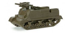 Herpa 1/87 M7B2 Tank w/105mm Self-Propelled Howitzer Gun HO Scale Model Railroad Vehicle #797