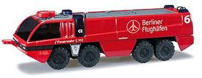 Herpa Rosenbauer Panther 8X8 Berlin, Germany, Airport HO Scale Model Railroad Vehicle #90377