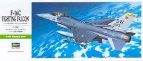 Hasegawa F16C Falcon Aircraft Plastic Model Airplane Kit 1/72 Scale #00232
