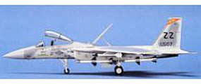 Hasegawa F15C Eagle Aircraft Plastic Model Airplane Kit 1/72 Scale #00336