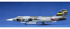 Hasegawa F-104S/F-104G Starfighter(Italian/Luftwaffe) Plastic Model Airplane Kit 1/72 Scale #00447