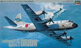 Hasegawa P-3C Update II Orion Plastic Model Airplane Kit 1/72 Scale #04515