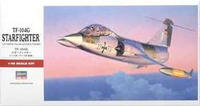 Hasegawa TF-104G Starfighter Plastic Model Airplane Kit 1/48 Scale #07240