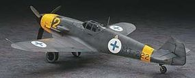 Hasegawa Messerschmitt BF109G-2 Finnish Air Force LTD Plastic Model Airplane Kit 1/32 Scale #08230