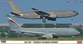 Hasegawa KC-767 World Tanker Combo Limited Plastic Model Airplane 1/200 Scale #10808