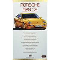 Hasegawa Porshe 968 CS Plastic Model Car Kit 1/24 Scale #20317