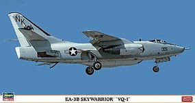 Hasegawa EA3B Skywarrior VQ1 Modern US Jet Recon Aircraft Plastic Model Airplane 1/72 Scale #2126