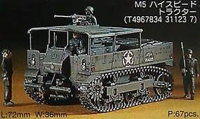 Hasegawa M5 High Speed Tractor Plastic Model Military Vehicle Kit 1/72 Scale #31123
