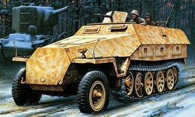 Hasegawa Sd.Kfz. 251/1 Ausf D Armored Half-Track Plastic Model Halftrack Kit 1/72 Scale #31144