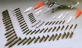 Hasegawa U.S. Aircraft Weapons A Plastic Model Military Weapons 1/48 Scale #36001