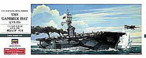 Hasegawa USS Gambier Bay CVE73 Escort Carrier Plastic Model Escort Kit 1/350 Scale #40027