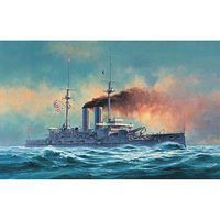 Hasegawa IJN Battleship Mikasa with 2 Figures Plastic Model Military Ship 1/350 Scale #40090