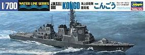Hasegawa J.M.S.D.F DDG Kongo Guided Destroyer Plastic Model Destroyer Kit 1/700 Scale #49027