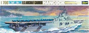 Hasegawa USS Hancock Plastic Model Aircraft Carrier Kit 1/700 Scale #49708