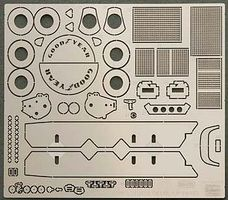 Hasegawa Photo Etch Parts Lotus 79 Formula One Plastic Model Car Parts 1/20 Scale #72143