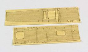 Hasegawa Wooden Deck Akagi Carrier Plastic Model Ship Accessory 1/700 Scale #72152
