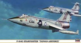 Hasegawa Starfighter Taiwan AF Plastic Model Airplane 1/48 Scale #9365
