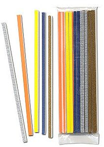 Hobby Stix Hobby Stix Swizzle Stick Sanders (15 assorted grits/Bag) -- Sandpaper Assortment -- #101