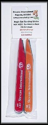 Hobby Stix Combination Pack #1- Grit Angle Cut Hobby Stix Sanding Sticks (4 diff grits/Bag)