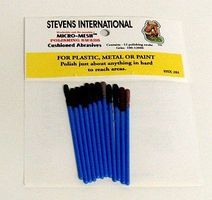 HObby-Stix Polishing Swabs 1/4 Long (12 diff grits/Bag)