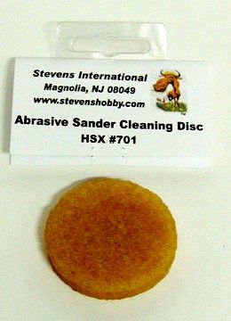 Hobby Stix Abrasive Sander Cleaning Disc (1/Bag)