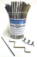 HObby-Stix Hobby Stix Bendable Sanding Sticks Counter Canister (50ea of 5 diff grits)