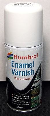 Humbrol Enamel Paints 150ml Enamel Matt Varnish Spray