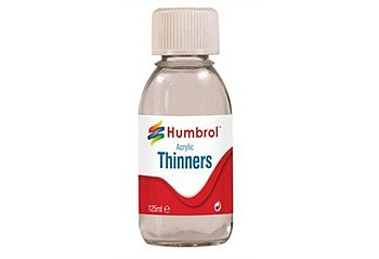 Humbrol Enamel Paints 125ml. Bottle Acrylic Thinner