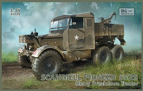 IBG 1/35 Scammell Pioneer SV2S British Heavy Recovery Tractor (New Tool)