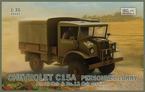 IBG Chevrolet C15A Personnel Lorry Plastic Model Military Vehicle Kit 1/35 #3