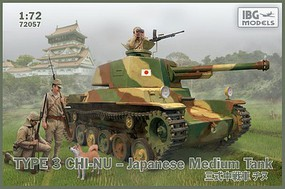 IBG 1/72 Type 3 Chi-Nu Japanese Medium Tank