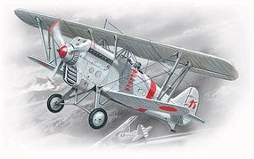 ICM Ki1011 Type 95 Japanese Army BiPlane Fighter Plastic Model Airplane Kit 1/72 Scale #72311