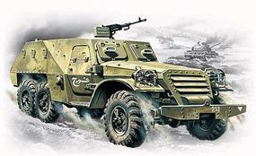 ICM BTR152V Soviet Armored Personnel Vehicle Plastic Model Military Truck Kit 1/72 Scale #72531