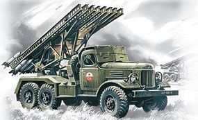 ICM BM13/16 Katyusha Soviet Rocket Launcher Vehicle Plastic Model Artillery Kit 1/72 #72571