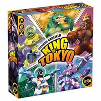 Iello King of Tokyo Game (2016 Edition)