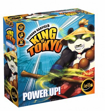 Iello Games King of Tokyo- Power Up Expansion to base game (2017 Edition)