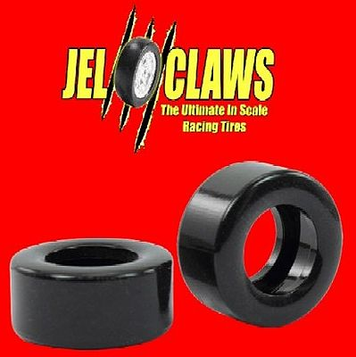 Innovative Hobby Supply 1/32 Jel Claws Rubber Racing Tires for SCX Nascar (2)(Front/Rear) -- Slot Car Part -- 1/32 -- #1300