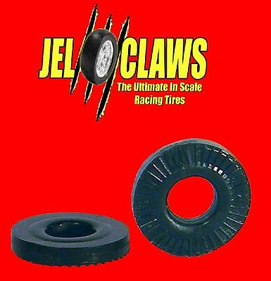 Innovative Hobby Supply Rubber Racing Tires for Aurora T-Jet & Vibrator Cars (10) -- Slot Car Part -- 1/64 Scale -- #2030
