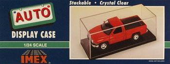 Imex Model Co Auto Showcase (Clear Base) -- 1/24 1/25 Scale Plastic Model Display Case -- #2500
