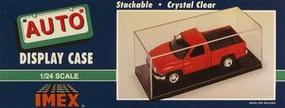 Imex Auto Showcase (Clear Base) 1/24 1/25 Scale Plastic Model Display Case #2500