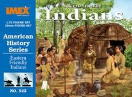 Imex Eastern Friendly Indians Western Plastic Model Kit 1/72 Scale #522
