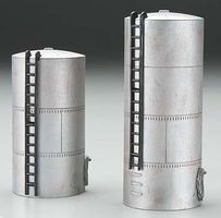 Imex Diesel Fuel Storage Tank Assembled Perma-Scene (2) HO Scale Model Railroad Building #6154