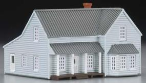 Imex Farm House Assembled Perma-Scene N Scale Model Railroad Building #6336