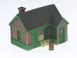 Imex Maintenance Office Assembled Perma-Scene N Scale Model Railroad Building #6340