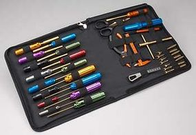 Integy Ti-Nitride Racing Tool Set (31pc) with Bag